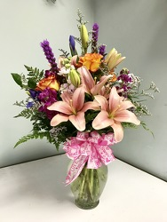 Spring Mixed Bouquet from Ruby's Leesville Florist in Leesville, LA