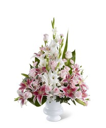 The FTD Precious Peace(tm) Arrangement from Ruby's Leesville Florist in Leesville, LA