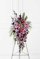 The FTD Tender Touch(tm) Standing Spray from Ruby's Leesville Florist in Leesville, LA