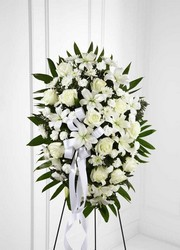 The FTD Exquisite Tribute(tm) Standing Spray from Ruby's Leesville Florist in Leesville, LA