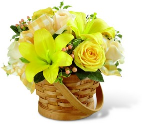 The FTD Sunny Surprise Basket from Ruby's Leesville Florist in Leesville, LA