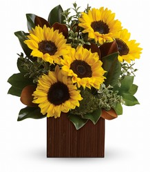 You're Golden Bouquet by Teleflora from Ruby's Leesville Florist in Leesville, LA